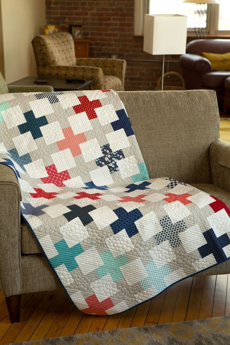 Featured Designer and Positive Direction Pattern in Modern Quilts Unlimited
