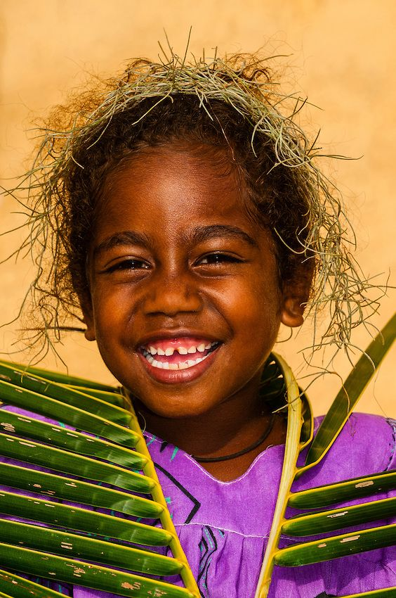Kanak Girl ~ Loyalty Islands, New Caledonia