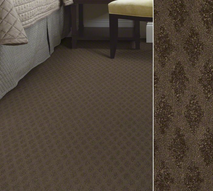I Love This Patterned Textured Carpet For A Master Suite Shaw Anso Nylon In Cut And Loop Pattern Style You Color Weathered Wood
