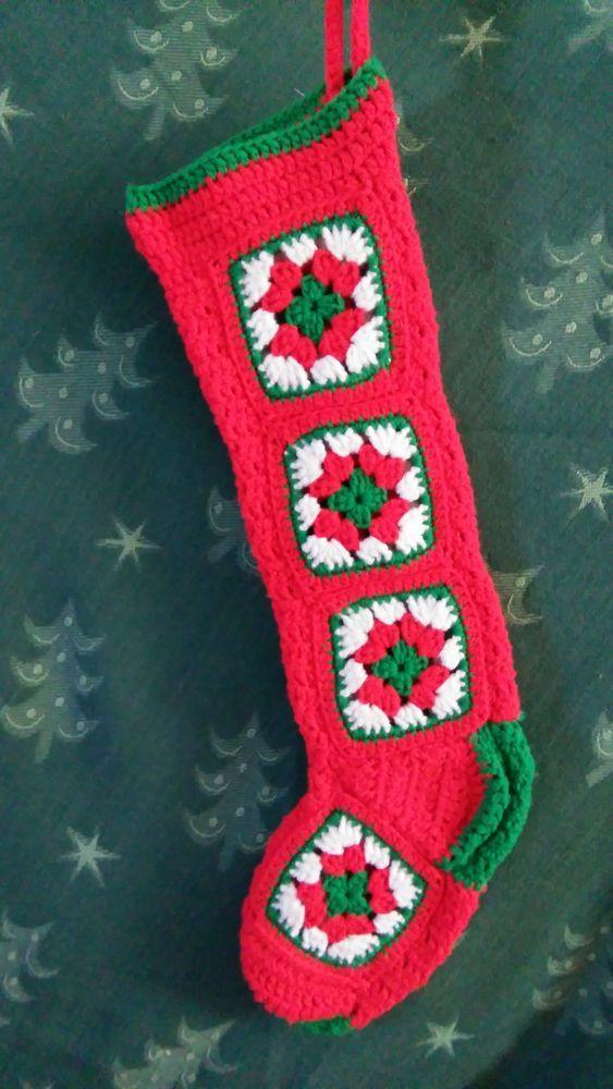 9 besten Christmas Stockings Bilder auf Pinterest | Gestrickte ...