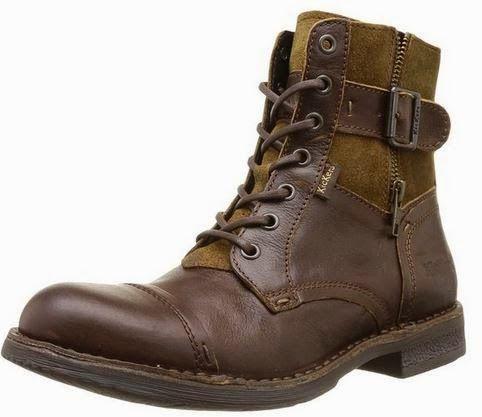 boots homme en cuir pas cher marque kickers