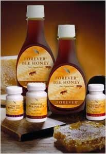 Forever Bee Products 100% Natural. Bee Super Foods. Packed with nutrition and energy.