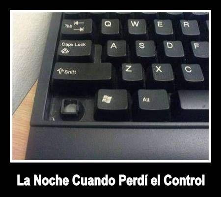 La Noche Cuando Perdí el Control #humor #chistes Repinned by http://www.Basic-Spanish-Words.com/