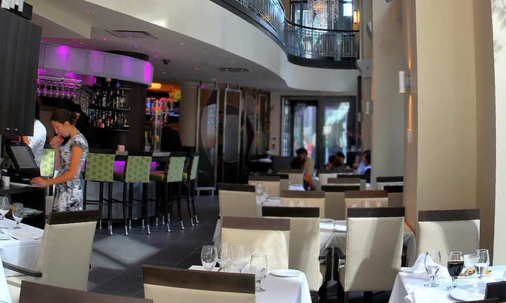 "Bistro L'Aromate, restaurant signature de l""Hôtel Saint-Martin"