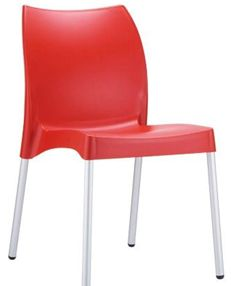 Restaurant Chairs - Red Vita Chair - #Restaurant #Chairs #OutdoorChairs #Indoor Chairs http://www.hoskit.com.au/Furniture/Restaurant-Chair/Vita-Chair/