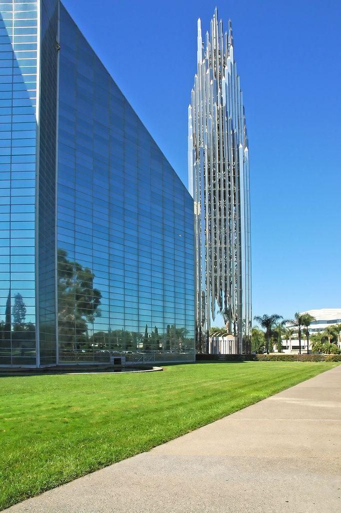 La Catedral de Cristal, Garden Grove, Condado de Orange, California.