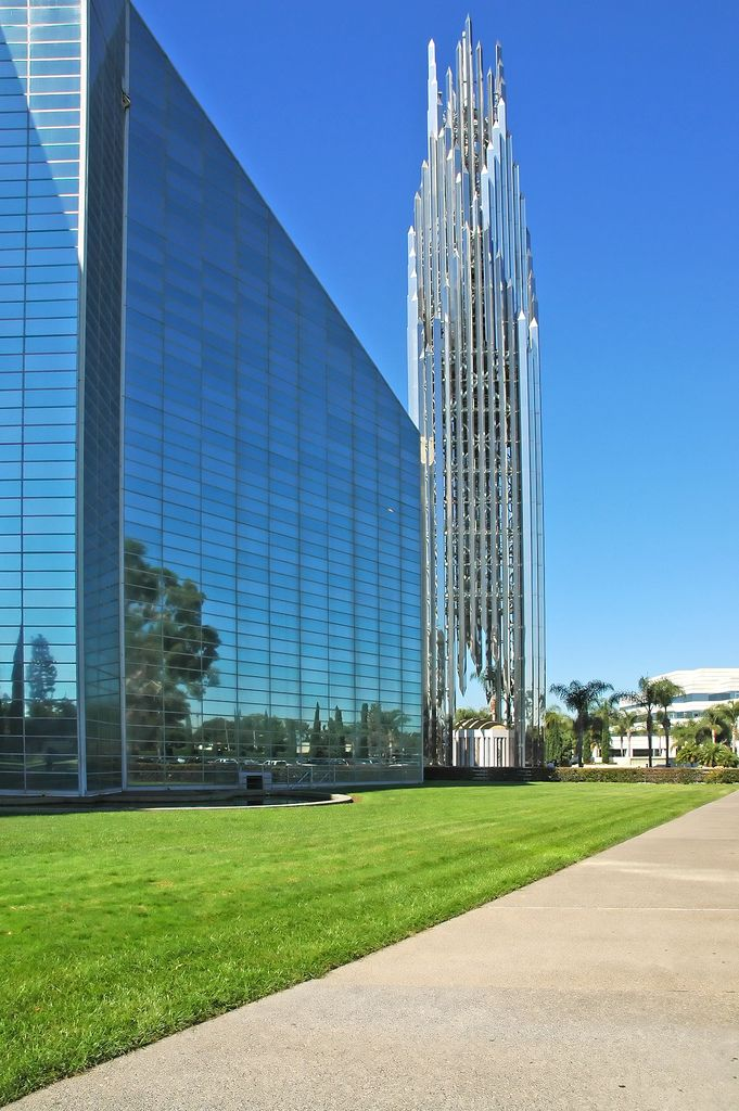 La Catedral de Cristal, Garden Grove, Condado de Orange, California.