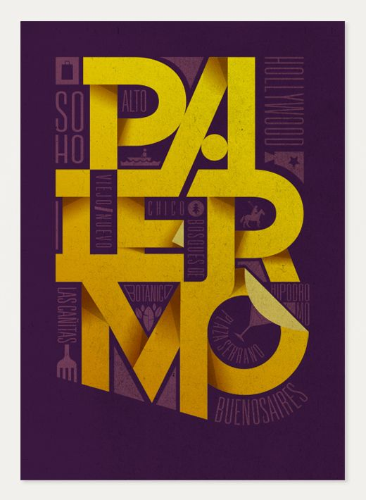 I really like this...: Design Inspiration, Graphic Design, Graphicdesign, Typography Design, Art, Poster, Type, Palermo
