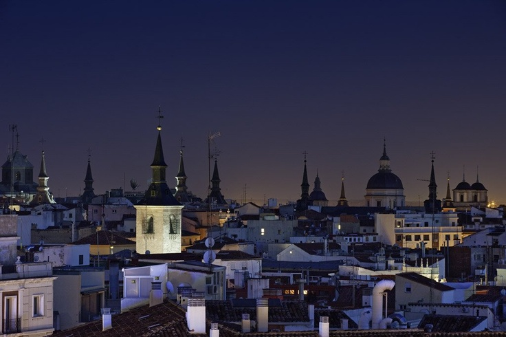 The view from Mercure Madrid Santo Domingo - Spain. Breathtaking!