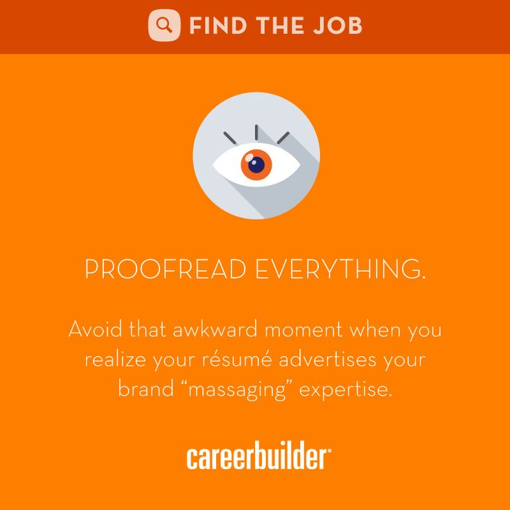 83 best Your Resume images on Pinterest Resume tips, Job search - resume proofreading