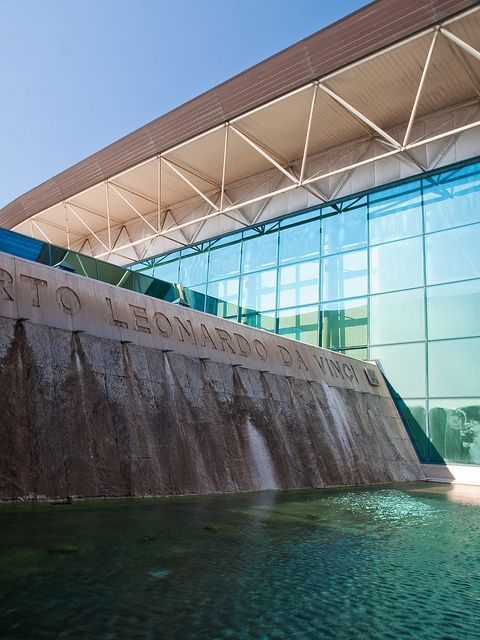 Fiumicino – Aeroporto Internazionale Leonardo da Vinci (FCO), Roma. Fiumicino – Leonardo da Vinci International Airport near Rome, Italy. #travel #airports