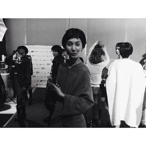 Backstage #spbfw #fashion #fashionweek #fw1415 #style #beauty