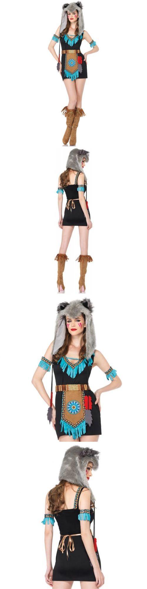 Halloween Costumes Women: Indian Costume Adult Warrior Princess Halloween Fancy Dress -> BUY IT NOW ONLY: $32.29 on eBay!
