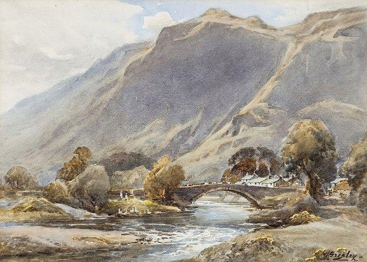 Harold Gresley (1892-1967) Grange Bridge,
