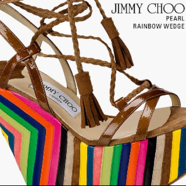 Jimmy Choo laove love this shoe!
