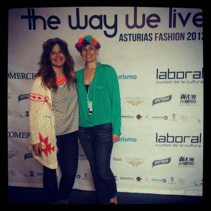 Los Ojos Chiribitas en The Way We Live Asturias Fashion 2013