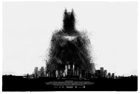 Mondo Selling Exclusive The Dark Knight Rises Poster At Comic Con On: Dark Knight