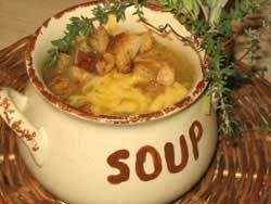 Paryska zupa cebulowa