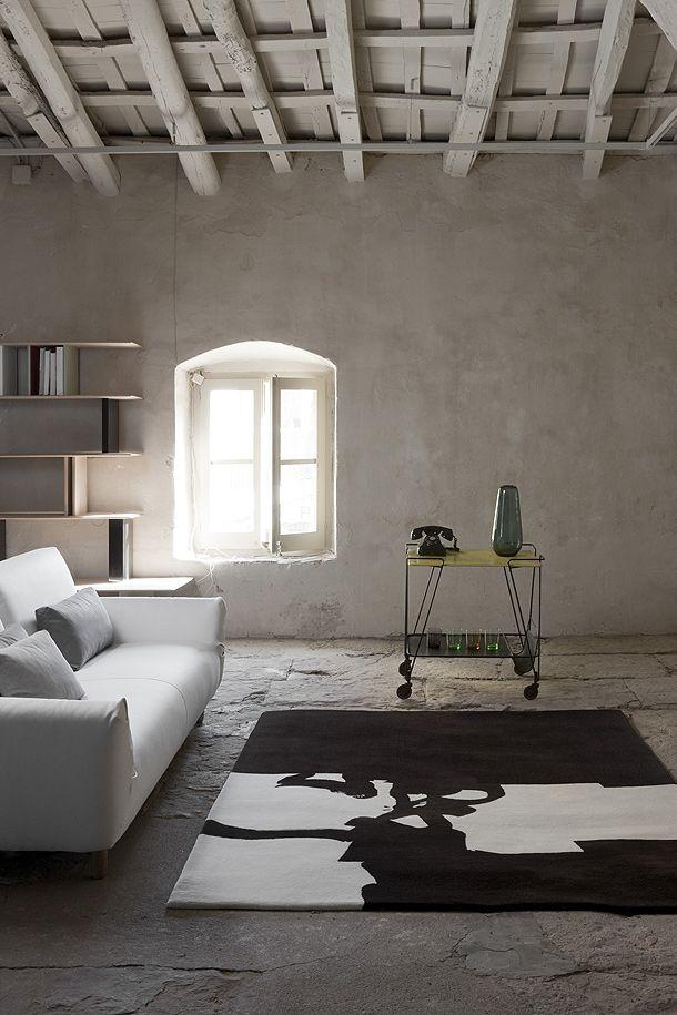 WABI SABI Scandinavia - one of Sweden's largest ad free design blogs.: Great rugs for your floor. Mattor som rena konstverk!