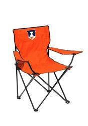 Illinois Fighting Illini Quad Canvas Chair