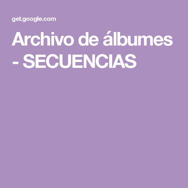 Archivo de álbumes - SECUENCIAS