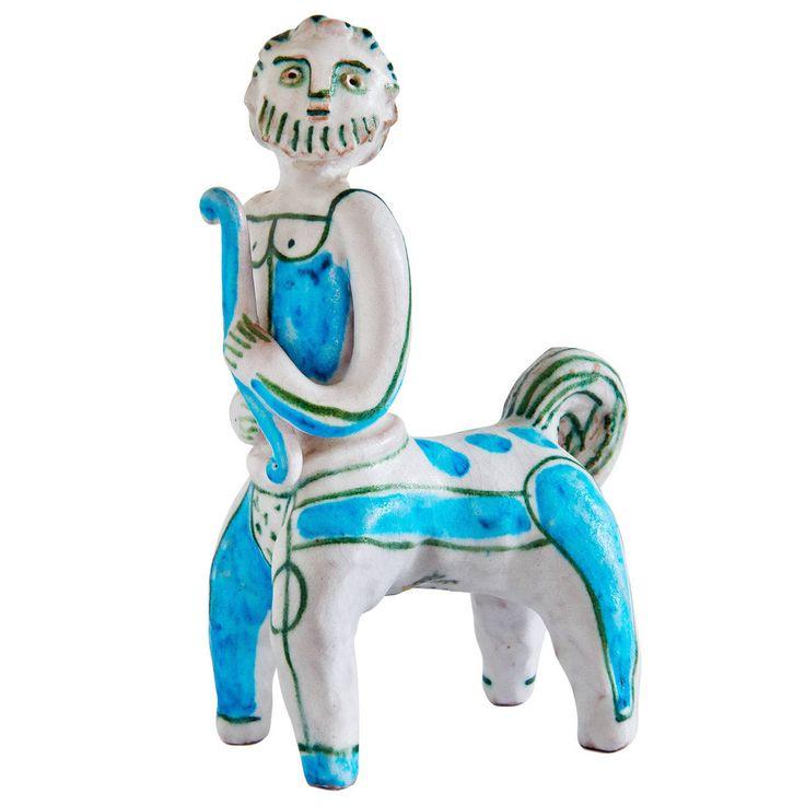Centaur Sculpture by Guido Gambone | 1stdibs.com
