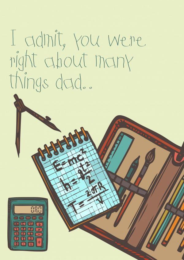 echte postkarten online versenden father 39 s day cards vatertagskarten pinterest. Black Bedroom Furniture Sets. Home Design Ideas