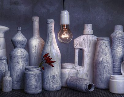 """Check out new work on my @Behance portfolio: """"Omaggio a Morandi"""" http://on.be.net/1FW8cD7"""
