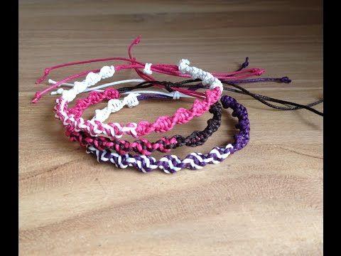 Bracelet en fil de coton comment faire