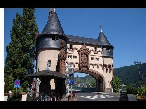 Traben-Trarbach dans la Moselle en Allemagne
