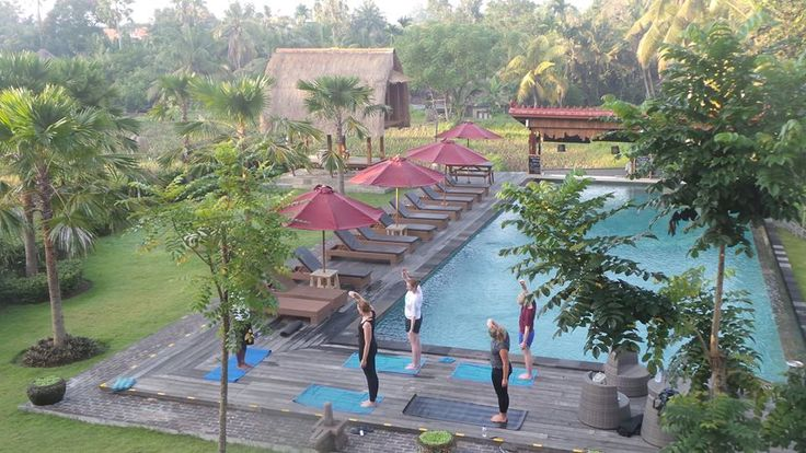 Morning Yoga at The Artini Resort Ubud - Bali