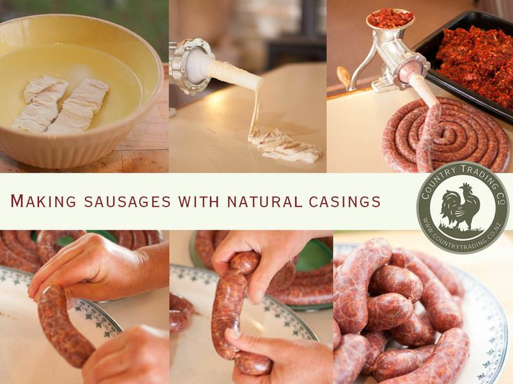 Making Sausages with Natural Casings | Country Trading Blog