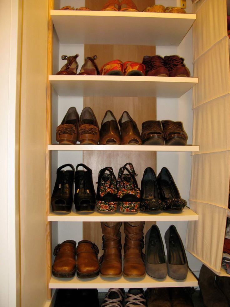 Good Crafted Shoe Closet Ideas