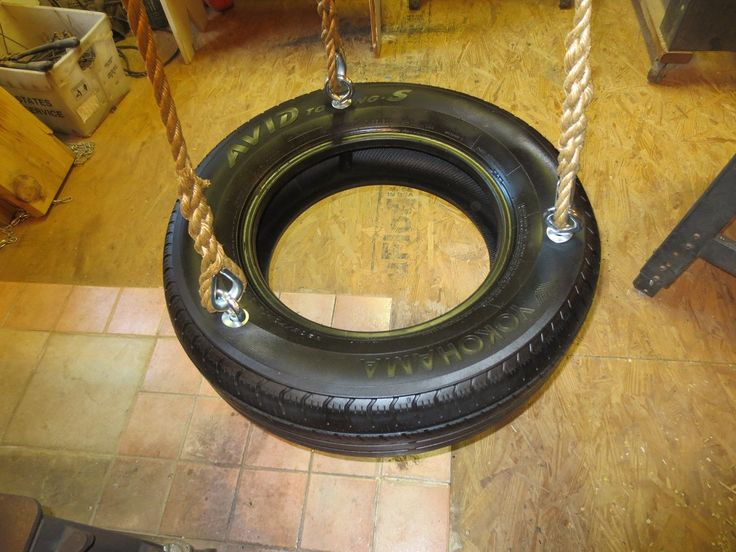 Wood Tree Swings Recycled Tire Swing Kit / Everything But Tire by WoodSwings on Etsy