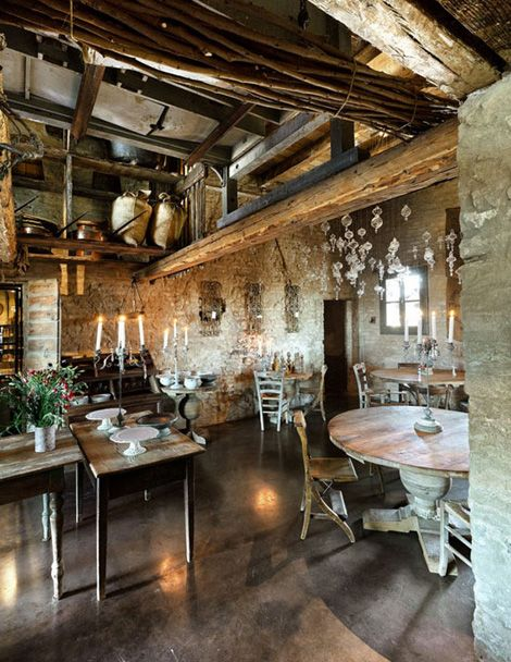 Barn conversion living