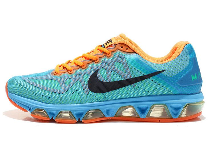 promo code 82f7f 4aa1f ... Officiel Nike Air Max Tailwind 7 Chaussures de Running Pour Homme Vert   Orange 683632- ...