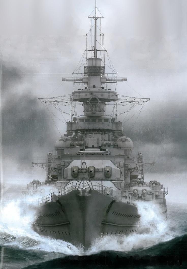 Das Schlachtschiff Gneisenau war das zweite Schiff der Scharnhorst-Klasse. Das 38.900 Tonnen verdrängende und 235 Meter lange Kriegsschiff war ebenso imposant wie nutzlos. Während der Seekrieg im Pazifik von den Flugzeugträgern geprägt war, war er im Atlantik vom U-Boot-Krieg bestimmt. Die Zeit der Schlachtschiffe war längst abgelaufen.