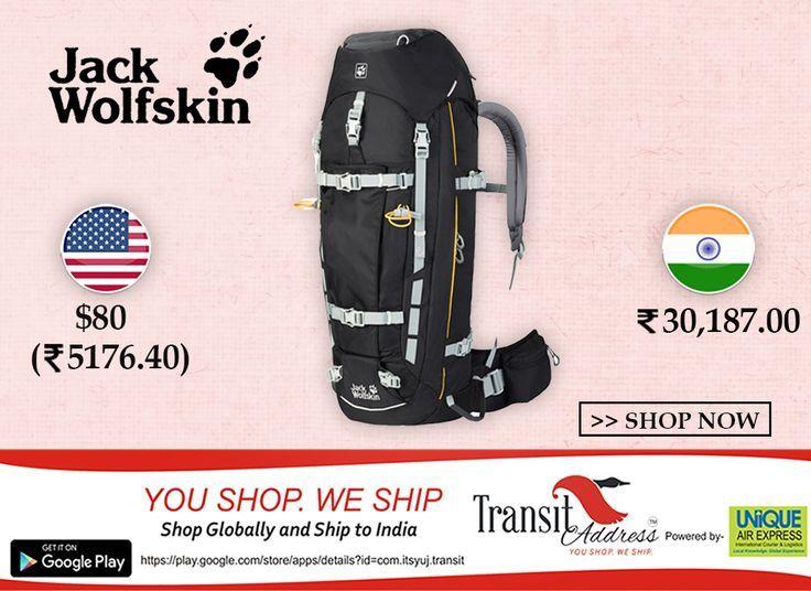 Jack Wolfskin Men's Mountaineer 48 Men Technical Trekking Pack #Free shipping for products under 2 KG #shopFromDubai #USA #UK #worldwide #shipToIndia #trekking #backpack #BlackFriday #Thanksgiving #Deals #Discounts #FreeShipping