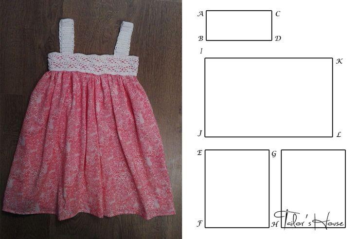 tipar pentru rochite crosetate