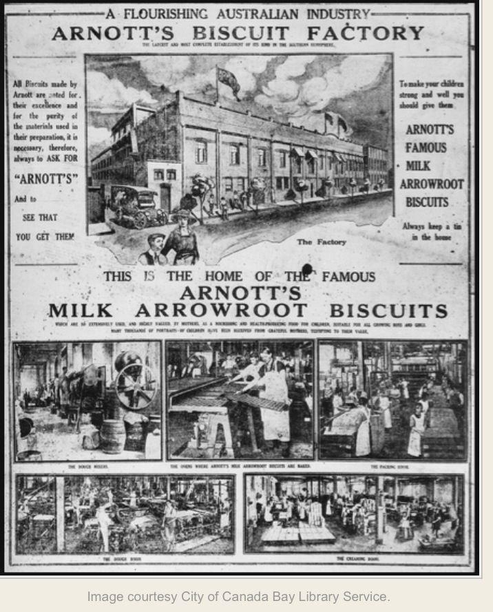 Arnott's Biscuit Factory, Homebush, Sydney, Australia v@e