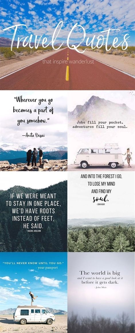 My Favorite Wanderlust Quotes
