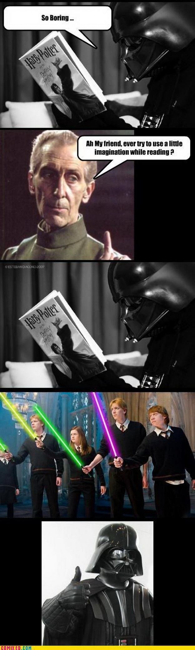 Harry Potter + Star Wars = Perfection