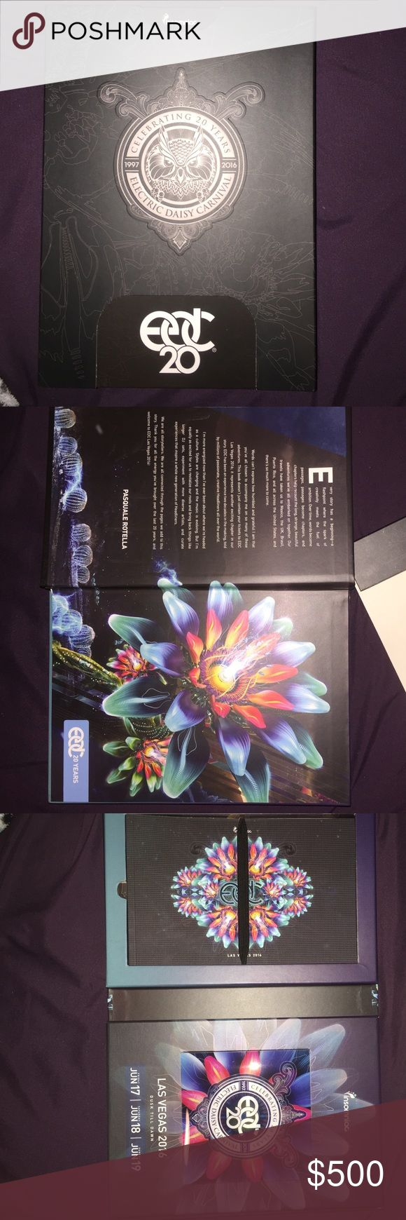 EDC ticket must go I have one 3 day pass EDC ticket must get ride off asap this year EDC is in Vegas I will express mail it Other