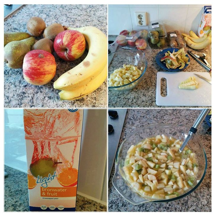 DIY om een verrukkelijke zelfgemaakte, alcoholvrije fruit bowl te maken. Heerlijk voor groot en klein. Leuk om de kinderen bij te laten helpen.