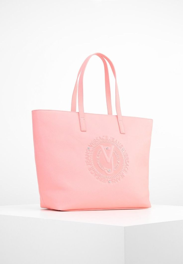 Versace jeans  shopping  bag corallo
