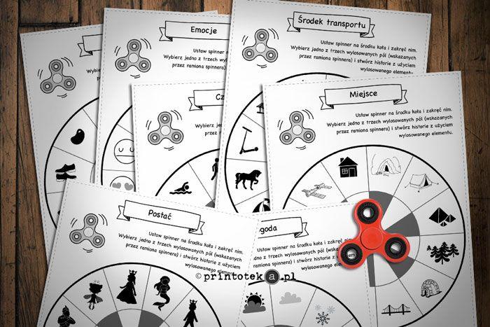 Spinner w opowiadaniach https://www.printoteka.pl/pl/blog/item/30 #spinner, #game, #printoteka