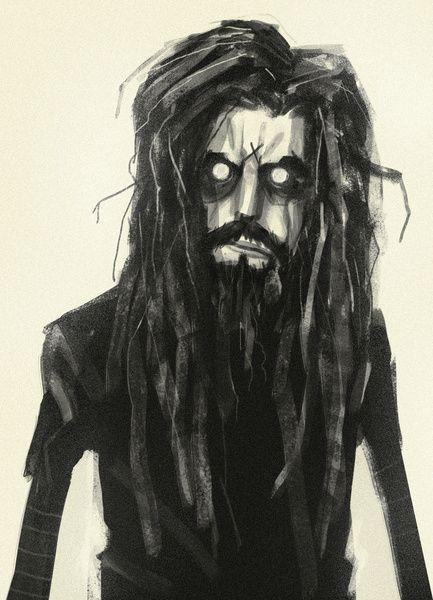   Rob Zombie Art Print by Peerro   Society6