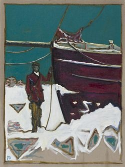 Frozen Estuary and Other Paintings of the Divine Ordinary, Billy Childish.