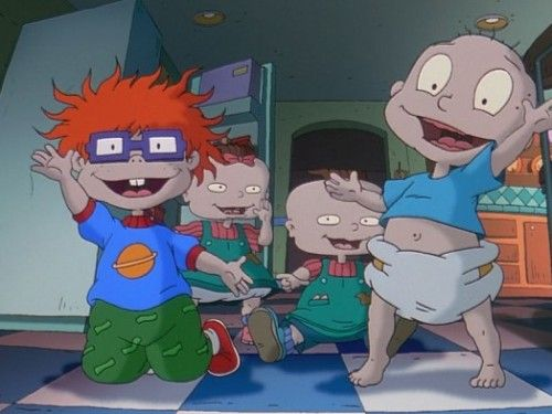 The 'Rugrats' artist drew what the caracters look like all grown up