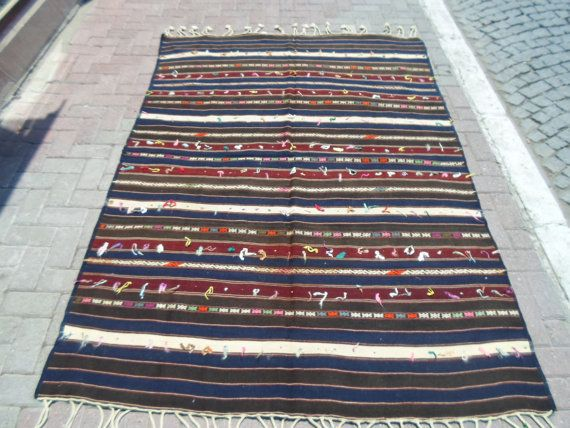 Vintage Anatolian Yagcıbedir Bergama region  by ArasCarpet on Etsy